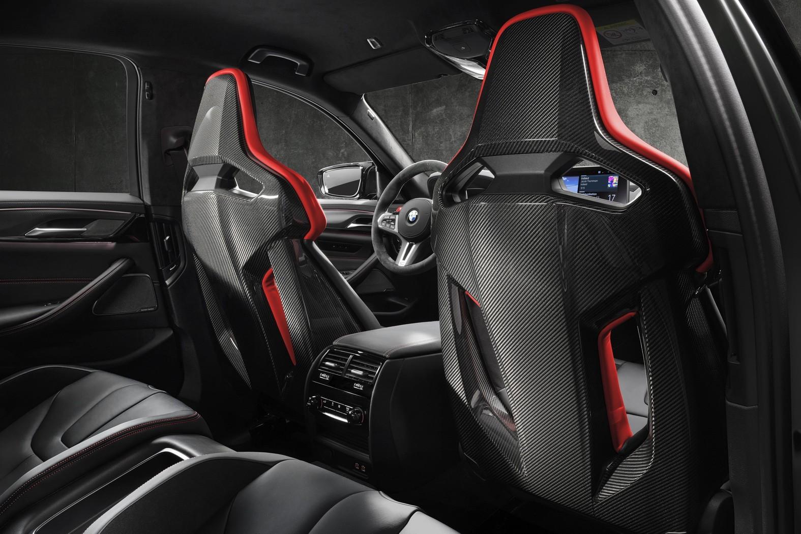 BMW M5 CS revealed