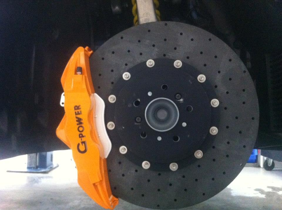 Bmw M5 Gets Ceramic Brakes From G Power
