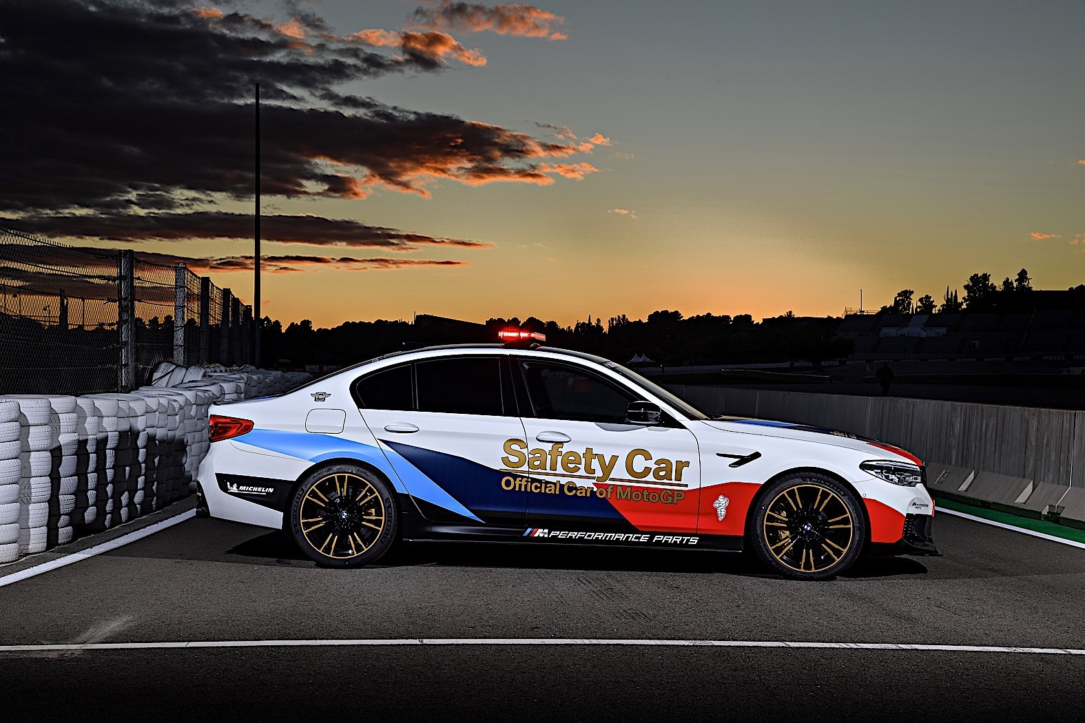 2018 BMW M5 MotoGP Safety Car Gets Ready for Season Start - autoevolution