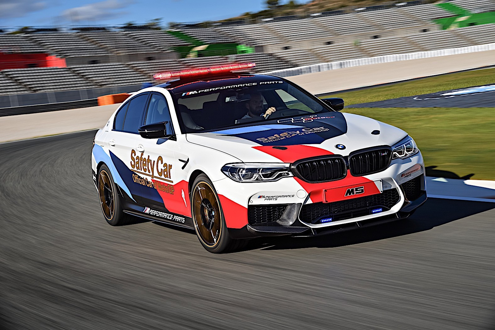 2018 BMW M5 MotoGP Safety Car Gets Ready For Season Start