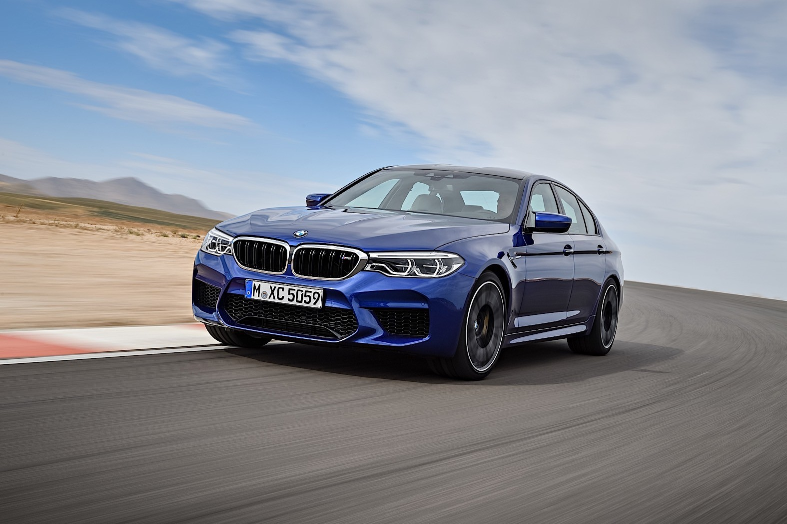 Nature Calls: BMW M5 Test Driver Needs to Relieve Himself ...