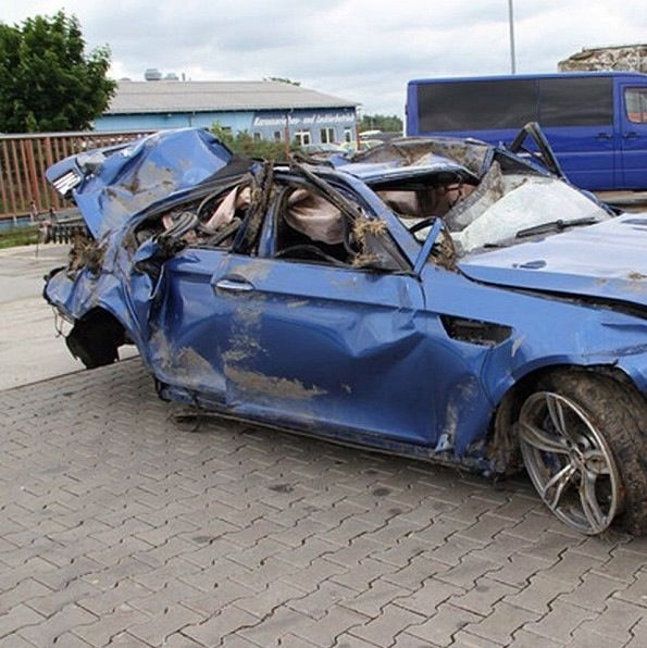Bmw m5 wrecked in south africa autoevolution