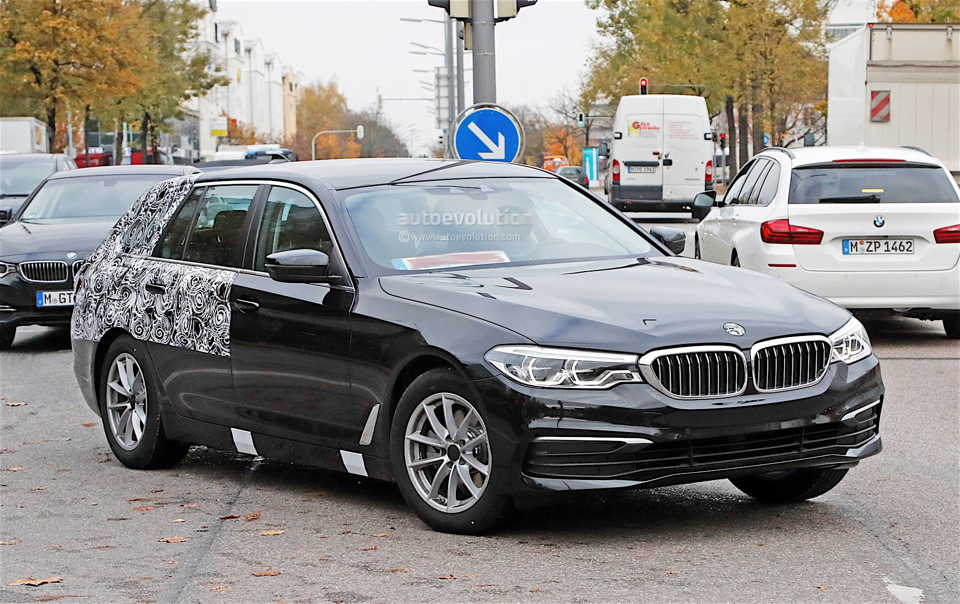 2018 bmw 5 series touring getting closer to official. Black Bedroom Furniture Sets. Home Design Ideas