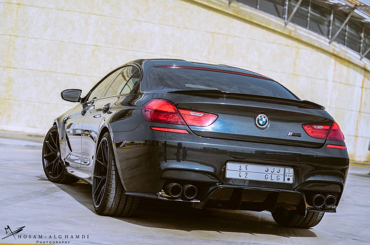 2017 BMW M6 Gran Coupe >> BMW M6 Gran Coupe Looks Fresh on HRE Wheels - autoevolution