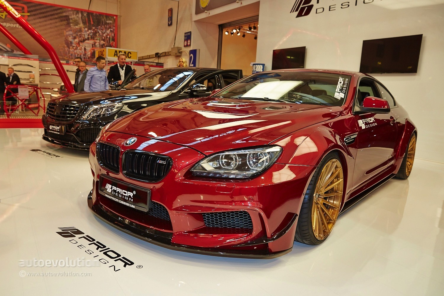 Bmw M6 With A Quilted Interior Belongs To Prior Design At Essen 2014 Live Photos Autoevolution