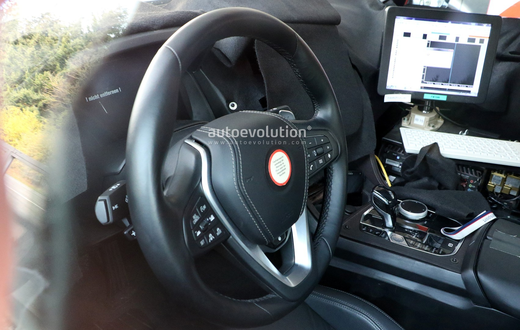 Bmw M8 Coupe Interior Partially Revealed In Latest Spyshots Autoevolution