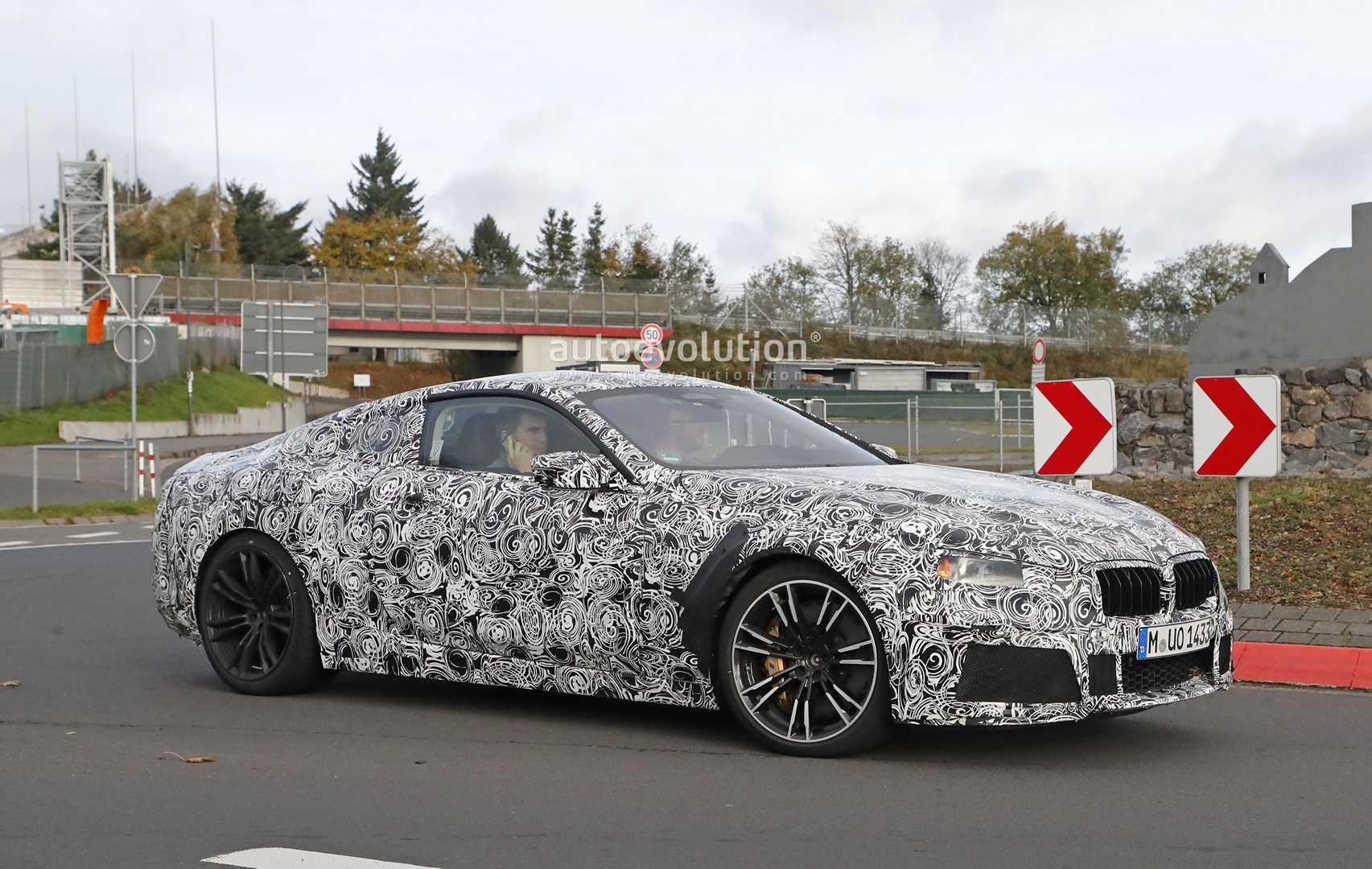 BMW M8 Coupe Interior Partially Revealed In Latest Spyshots