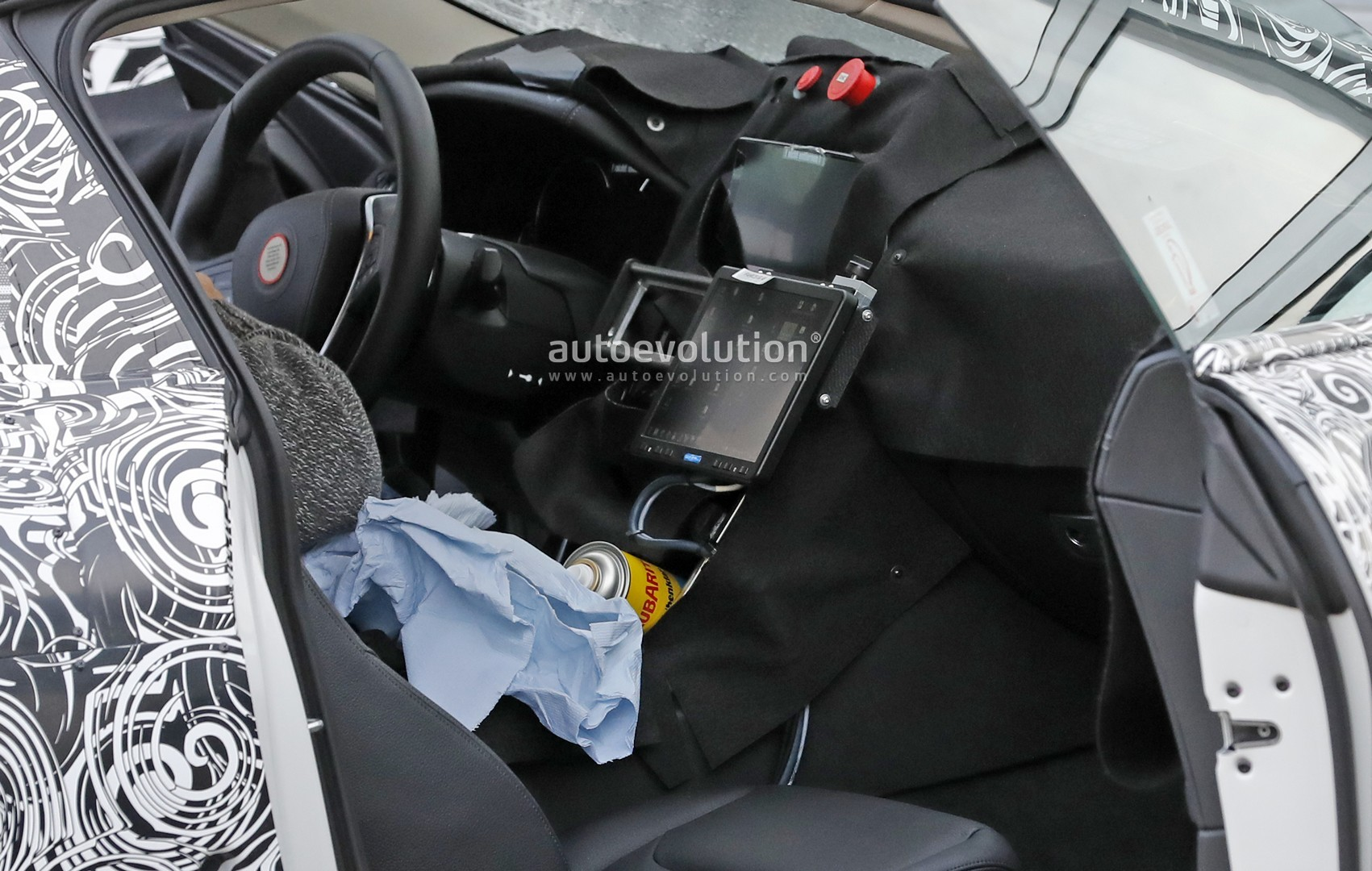 Bmw M8 Coupe Interior Partially Revealed In Latest