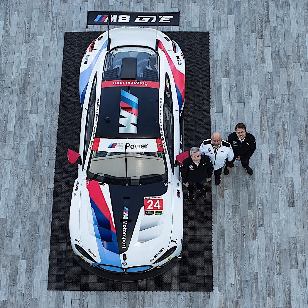 Bmw M8: BMW M8 GTE Shows Up In Rolex 24 Livery
