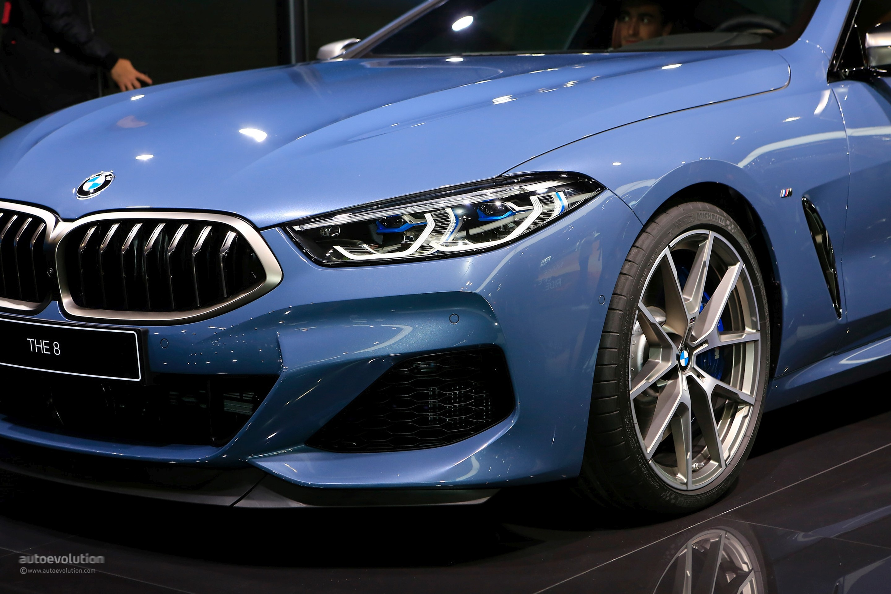 Barcelona Blue BMW M850i Looks The Part in Paris, Costs M5 ...
