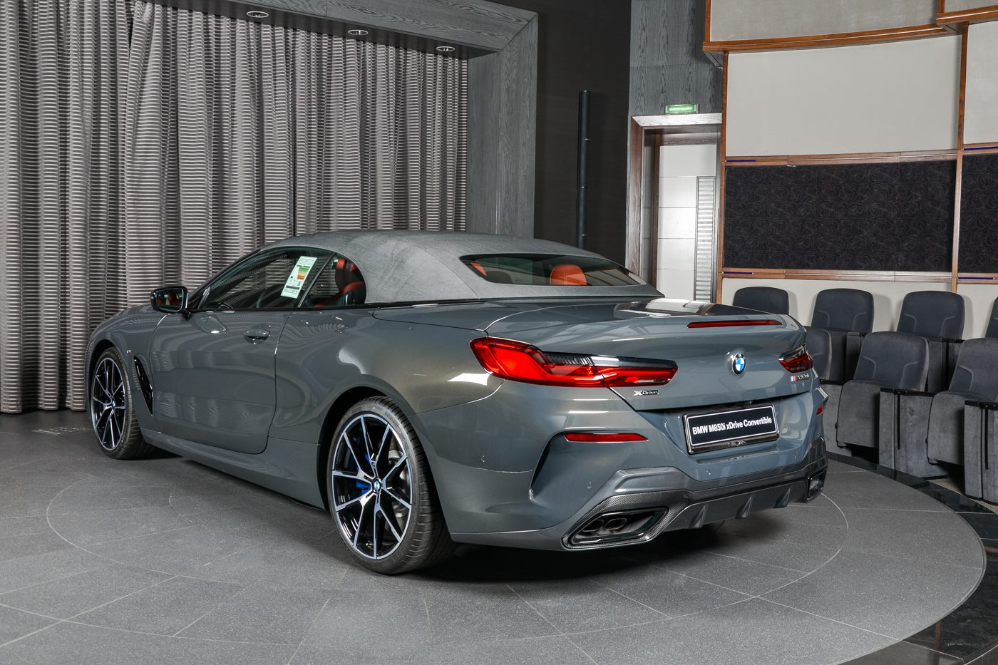 Bmw M850i Xdrive Convertible In Dravit Grey Is Cooler Than