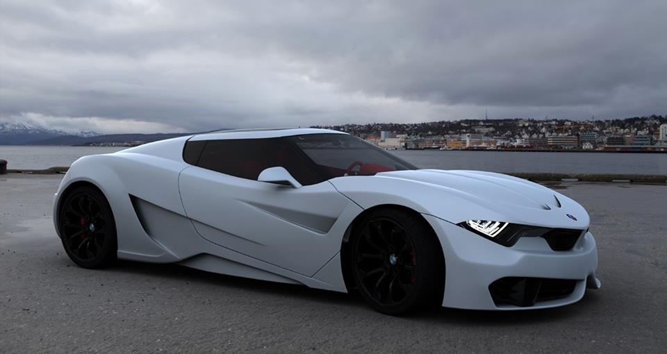 bmw m9 rendered in the wild autoevolution. Black Bedroom Furniture Sets. Home Design Ideas