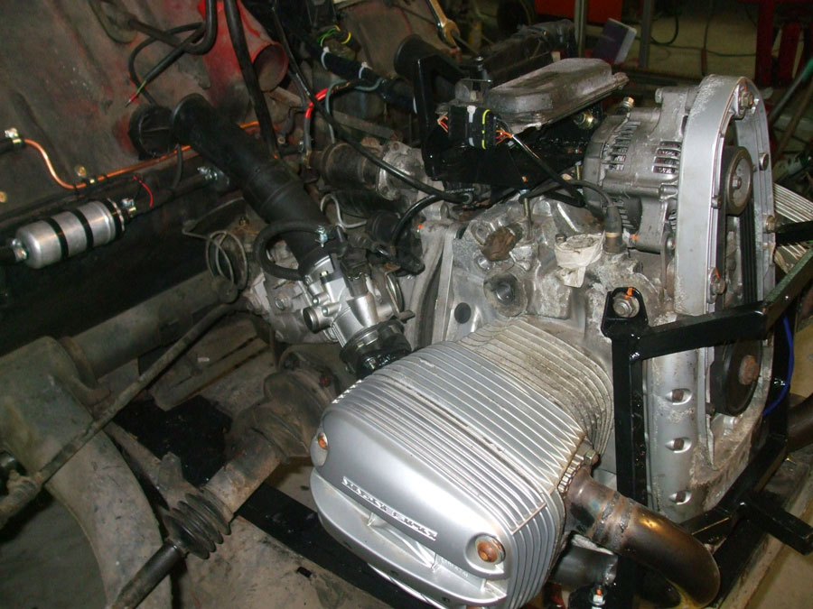 BMW Motorcycle Boxer Engine Powers Citroen 2CV