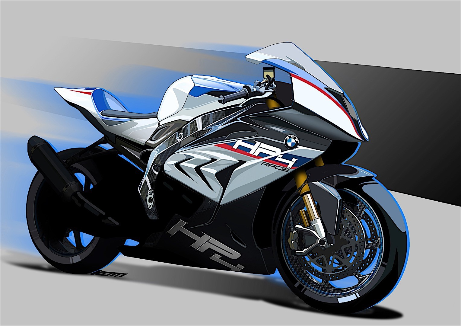 bmw motorrad announcing exclusive hp4 race model for 2017 autoevolution. Black Bedroom Furniture Sets. Home Design Ideas