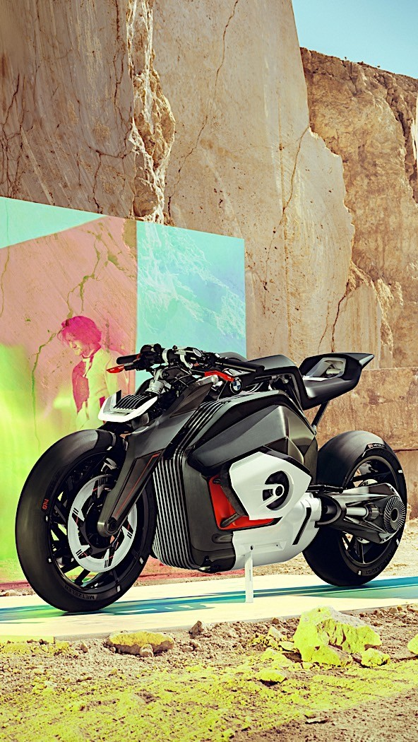 BMW Motorrad Goes Electric with Naked Vision DC Roadster