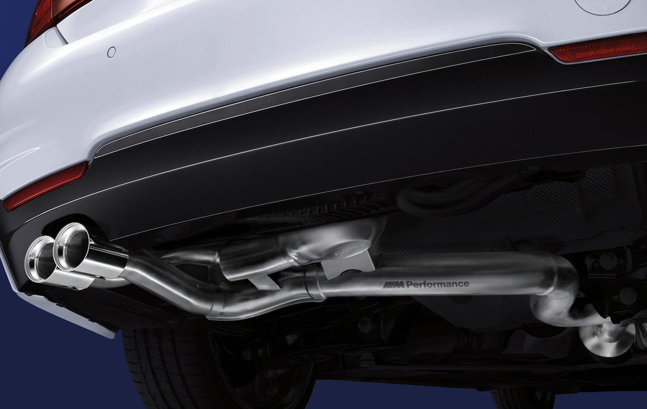 Bmw Now Offers M Performance Exhaust Systems With Speakers