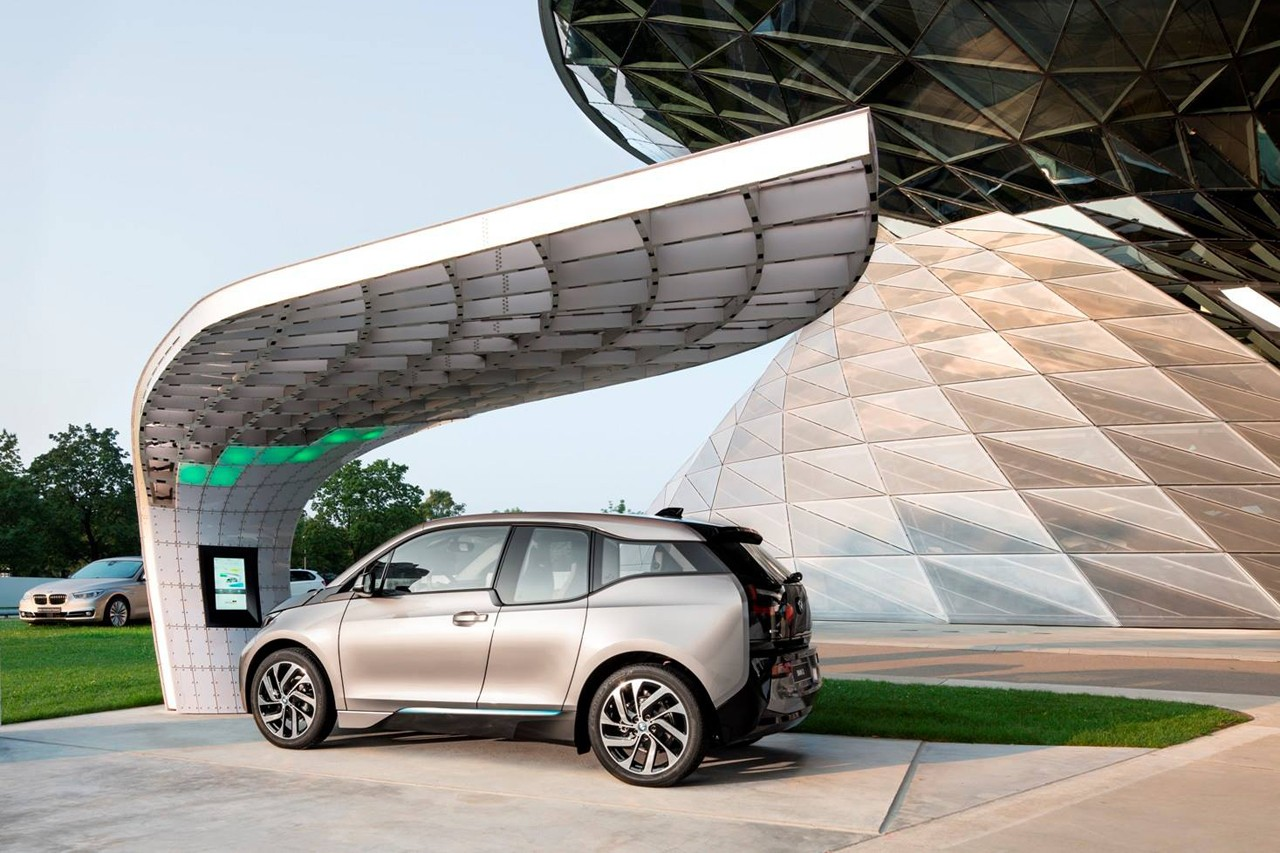 Bmw Electric Car Solar Charging Station Autos Gallery