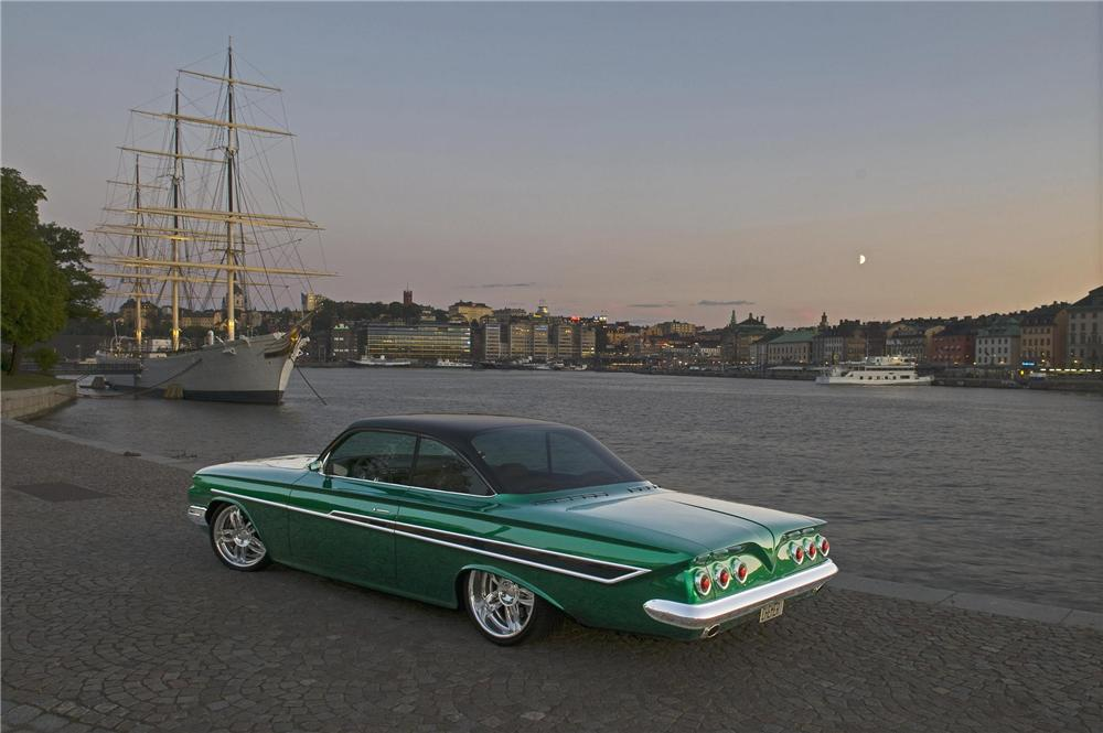 Bmw Powered 1961 Impala Up For Auction After Being Praised
