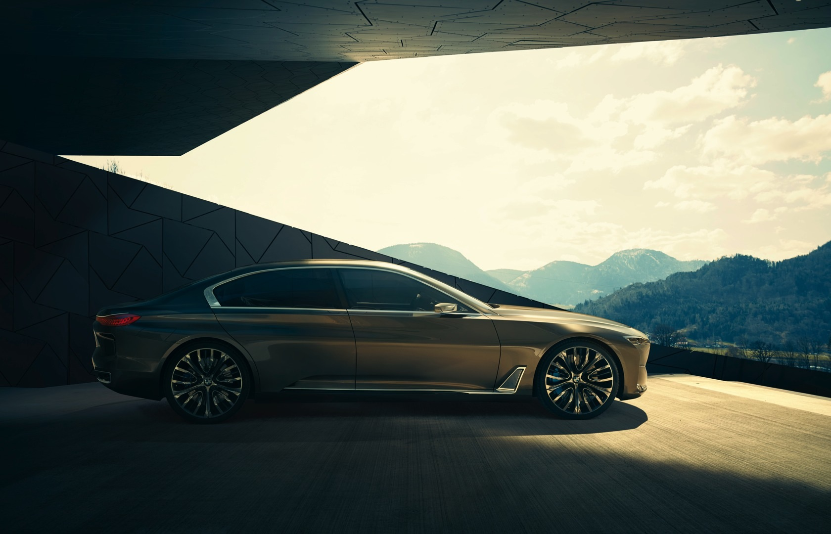 bmw previews the upcoming 7 series with vision future luxury concept autoevolution. Black Bedroom Furniture Sets. Home Design Ideas