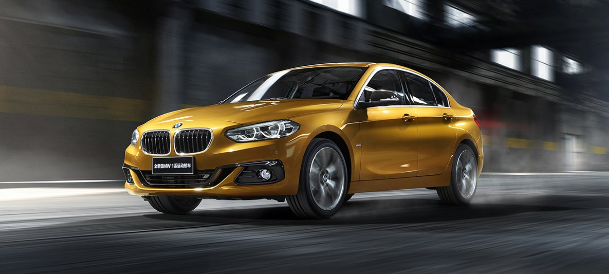 BMW 1 Series Sedan Wont Come To Europe To Avoid Stealing Sales