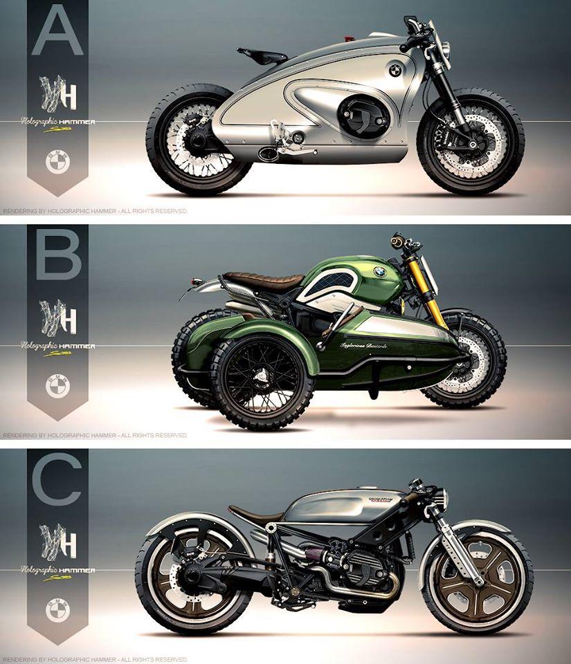 Bmwr: BMW R NineT Custom Contest In France Offers Bike Plus €