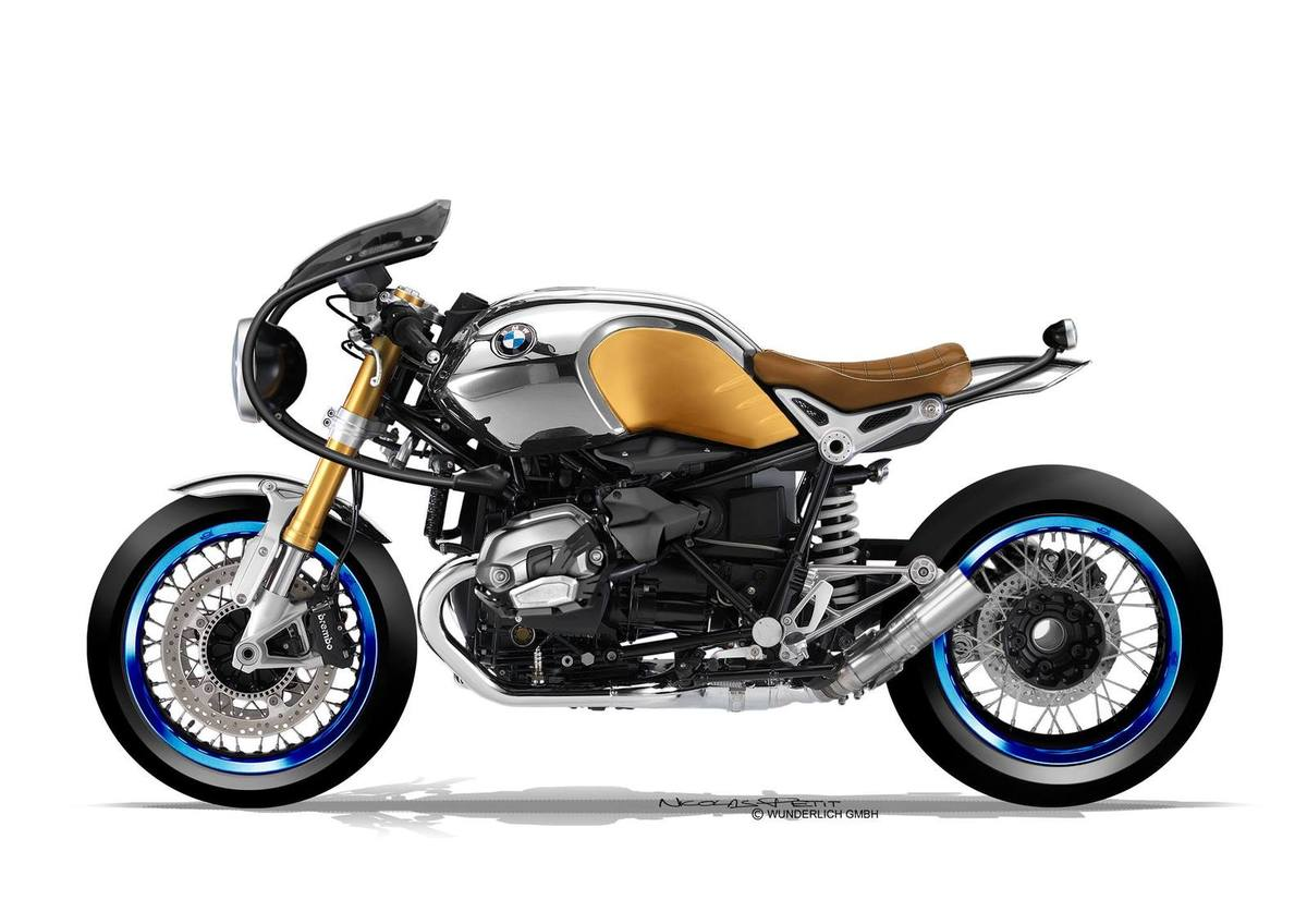 bmw r ninet the cool nicolas petit way autoevolution. Black Bedroom Furniture Sets. Home Design Ideas