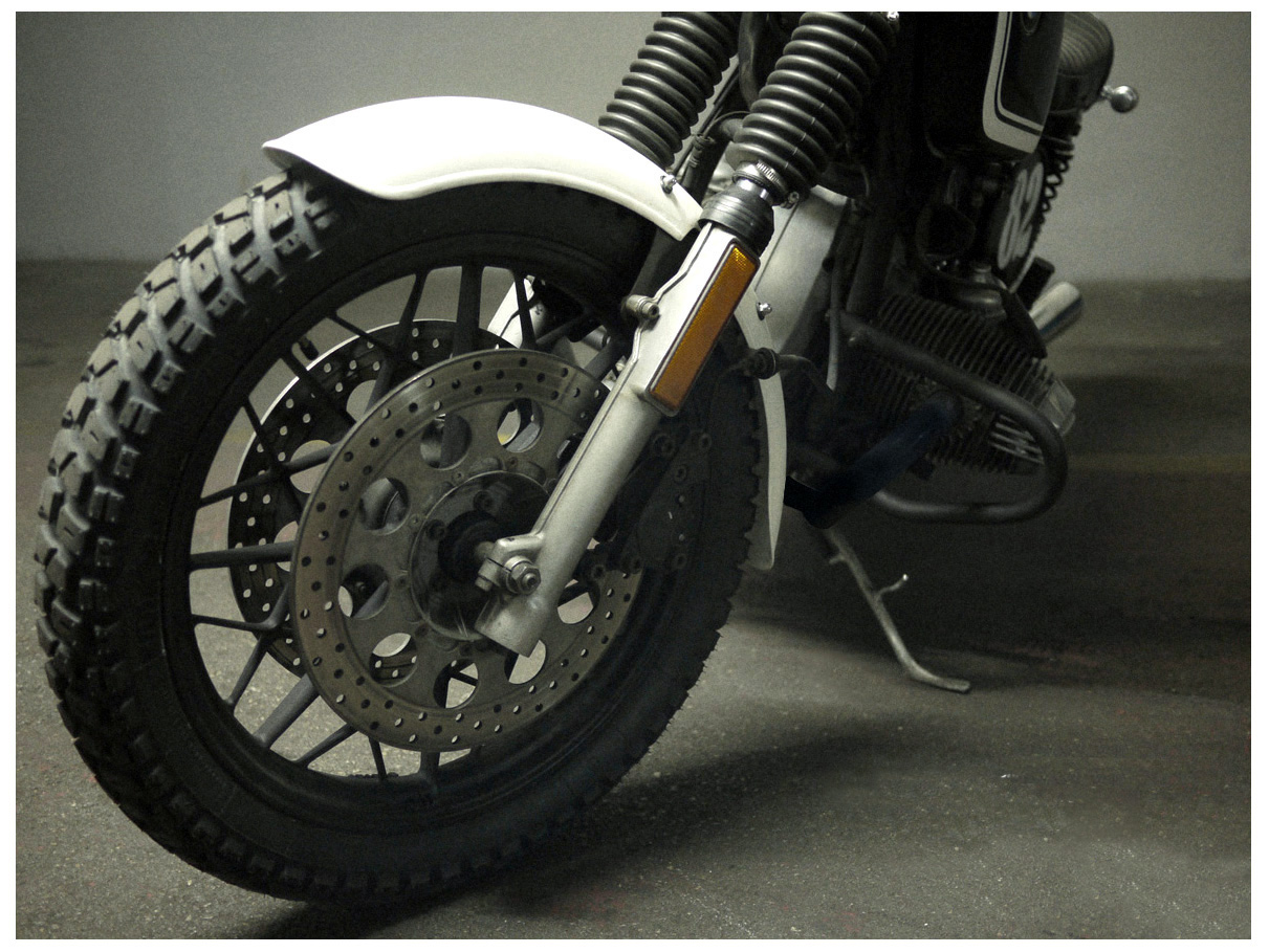 Bmw R65 Scrambler Kit
