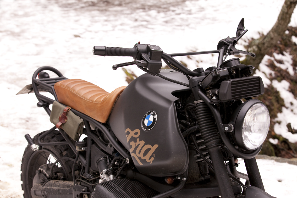 Bmw R1100gs Desert By Cafe Racer Dreams Autoevolution