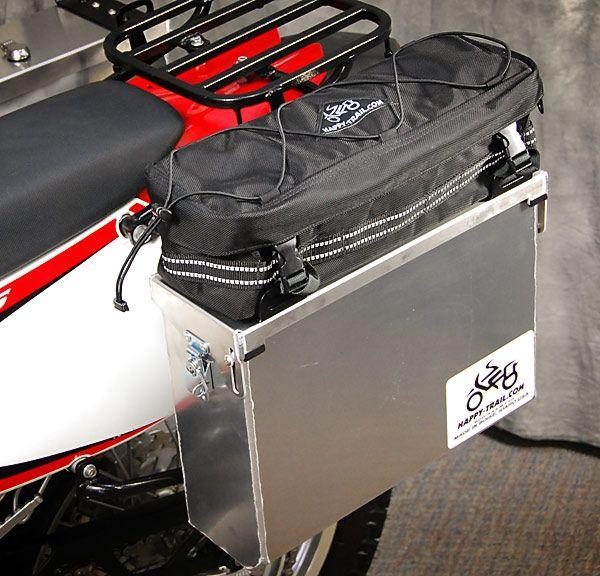Bmw R1200gs Receives Happy Trail Aluminium Panniers