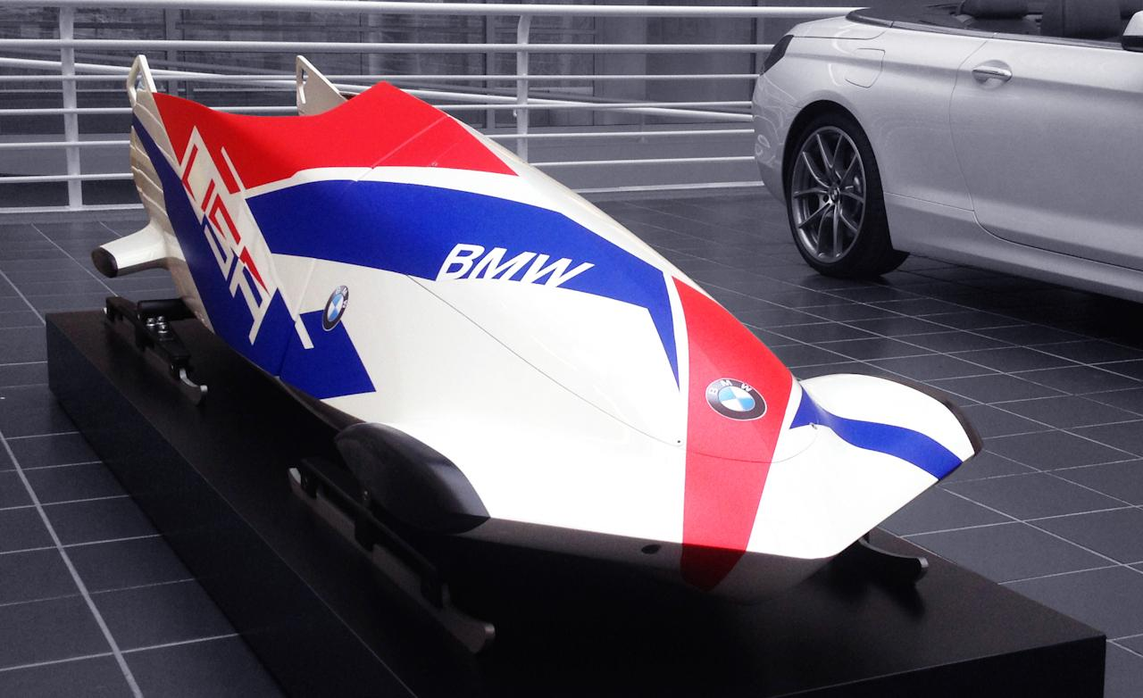 Bmw Reinvents Team Usa S Bobsled For The 2014 Olympics