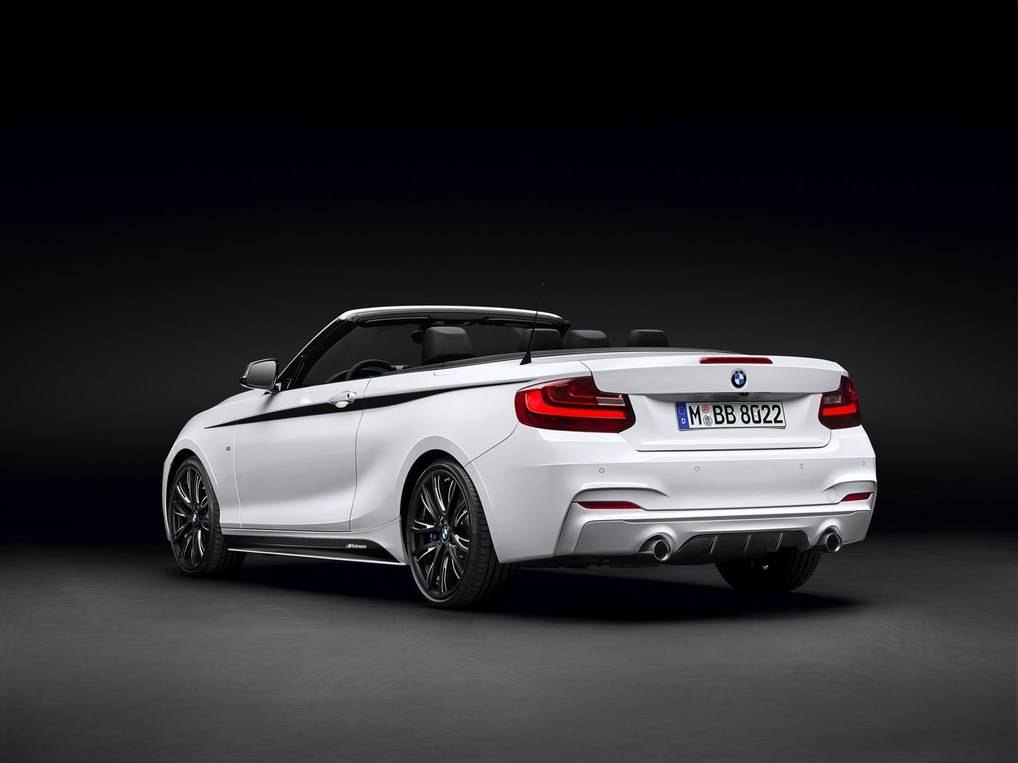 bmw releases m performance parts for 2 series cabriolet. Black Bedroom Furniture Sets. Home Design Ideas