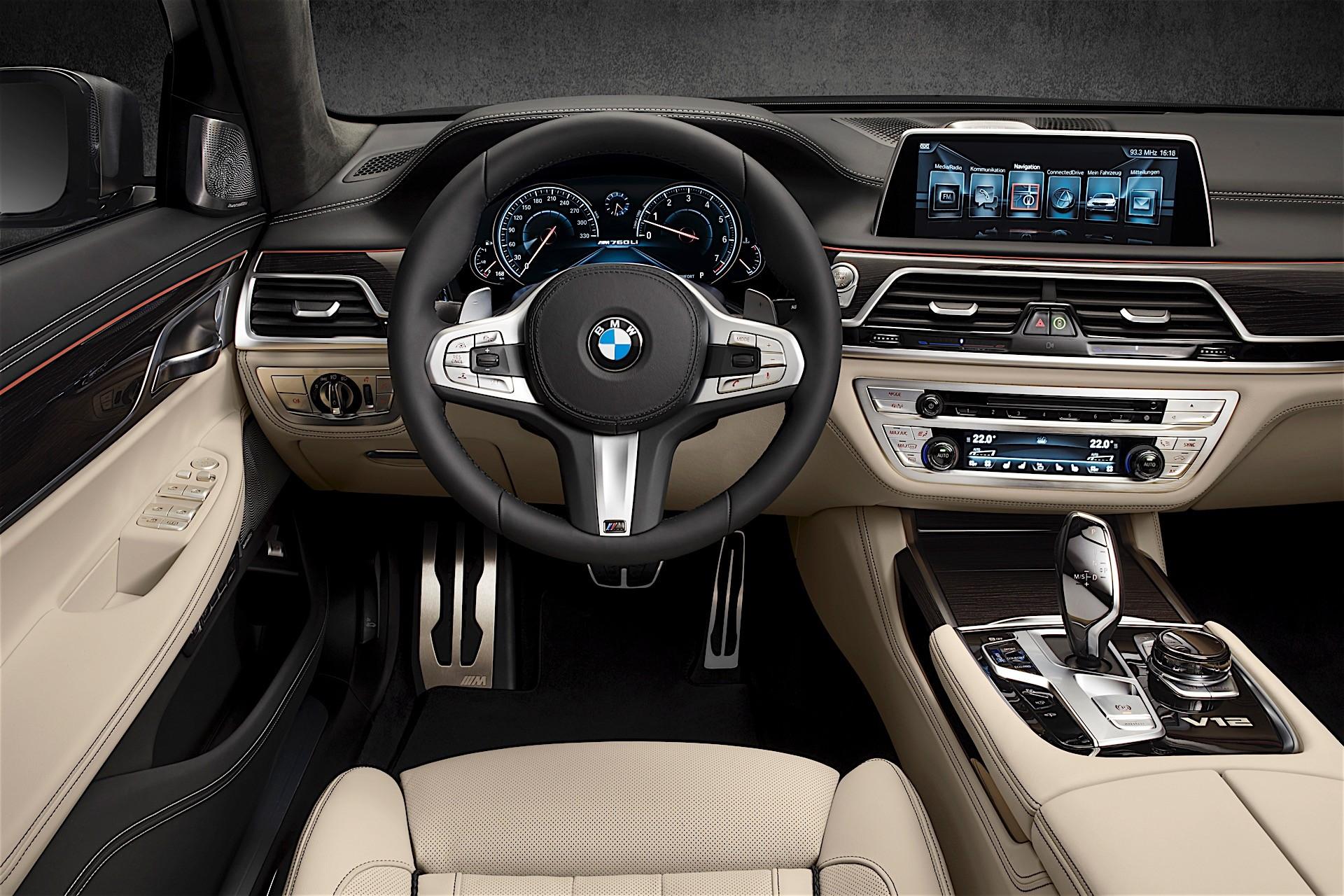 BMW Reveals New M760Li, It Has a V12 with 600 HP - autoevolution