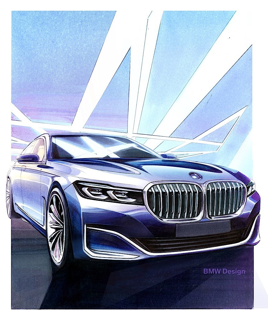 Bmw X7 2015: 2016 BMW 7 Series Rendered As A Touring, Previews The X7