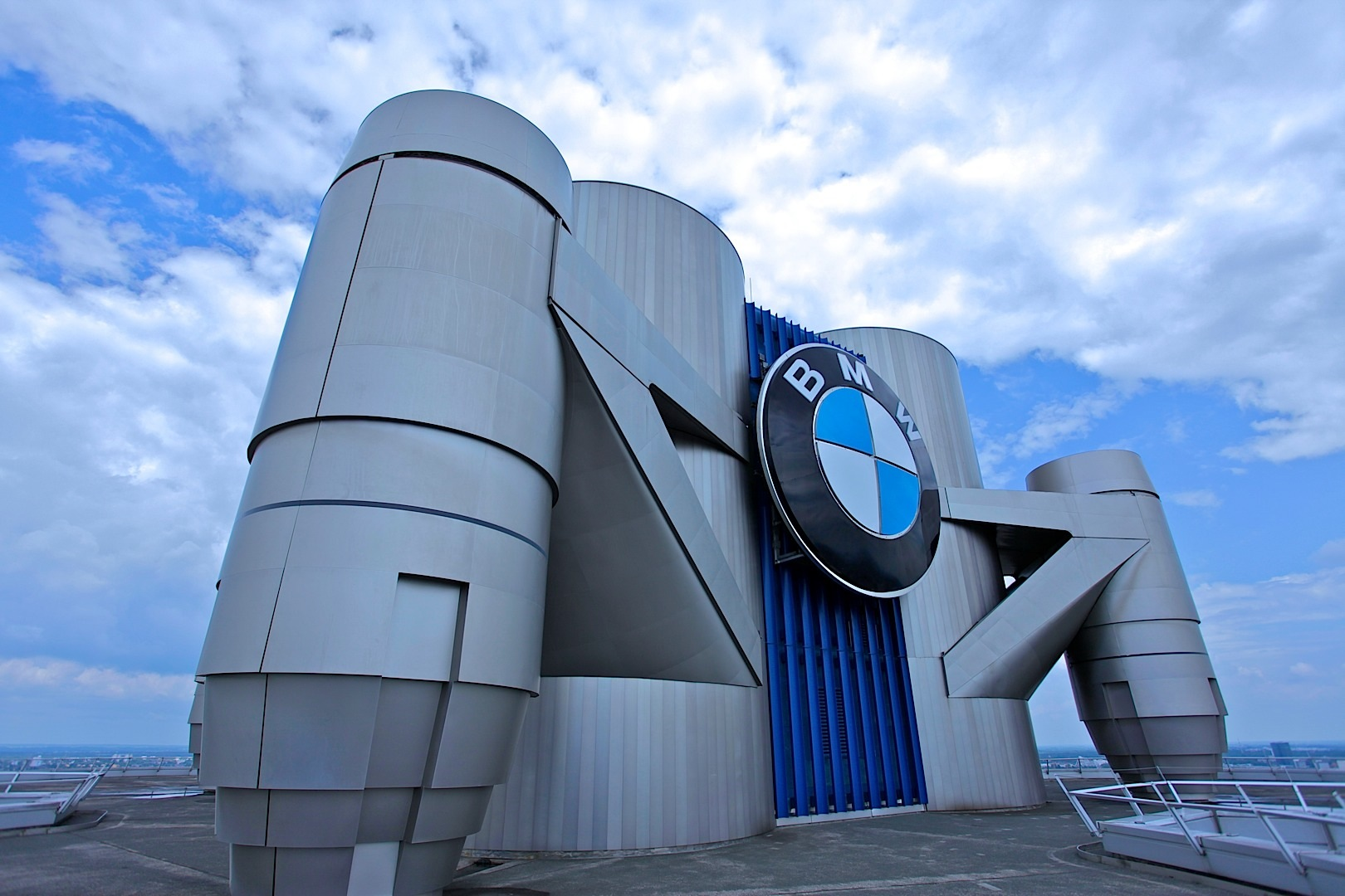 bmws tower and museum in munich celebrate 40 years of