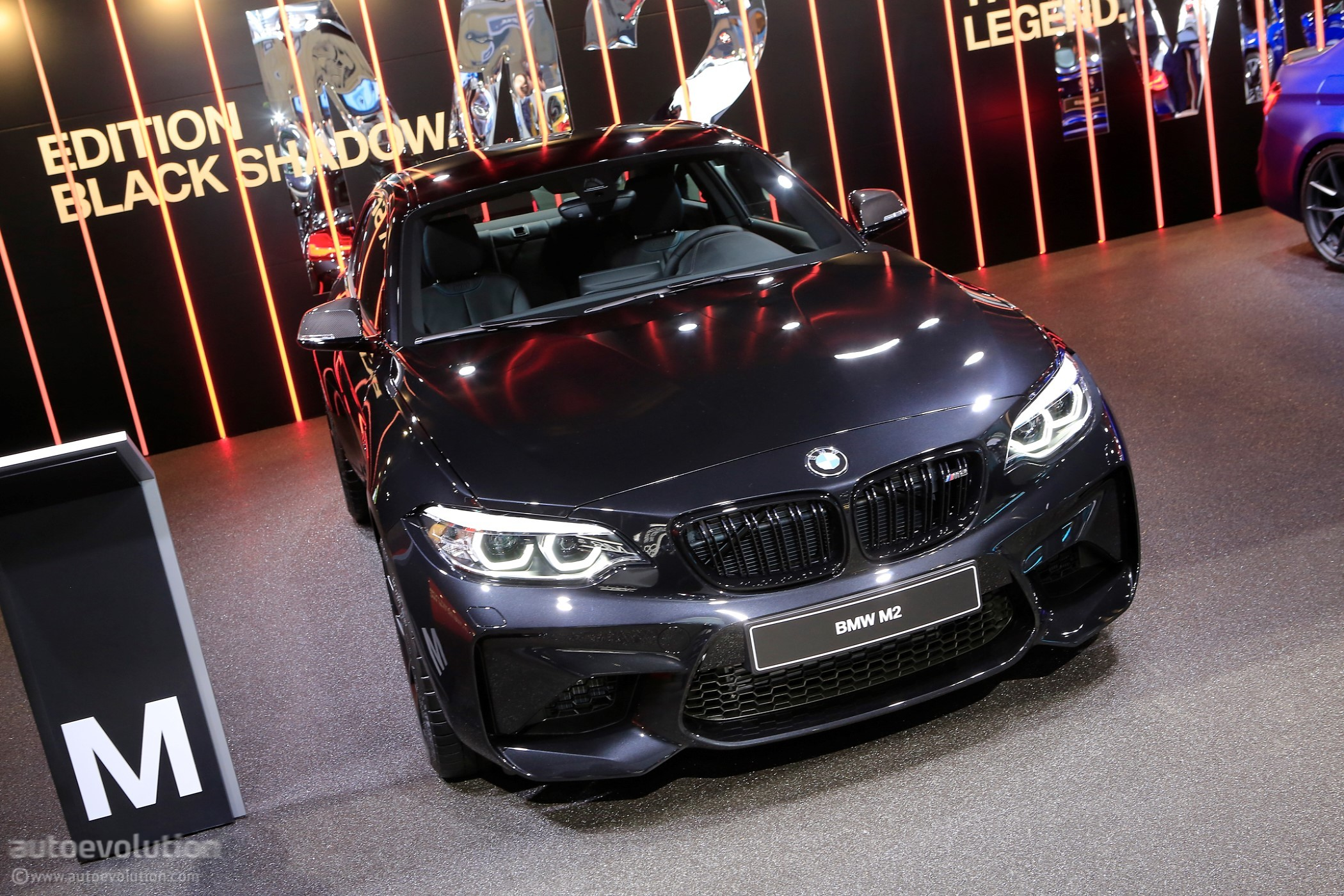 Bmw Stand At Geneva Brings Together M2 Edition Black Shadow With M3