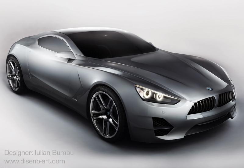 Bmw S X Concept Renderings Autoevolution