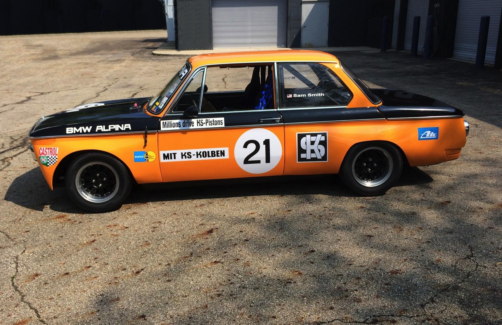 Bmw To Bring Restored 1970 Alpina 2002ti To The 2014 Rolex Monterey Motorsport Reunion
