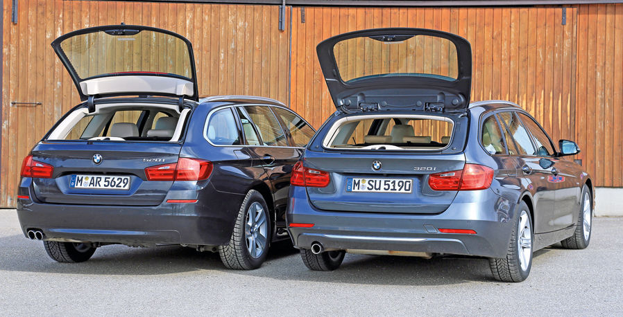 bmw touring comparo: 3 series vs 5 series. which is best
