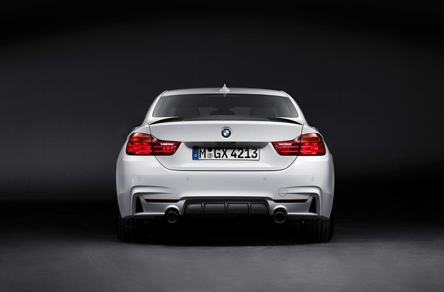 Bmw Unveils 2014 4 Series With M Performance Parts Autoevolution