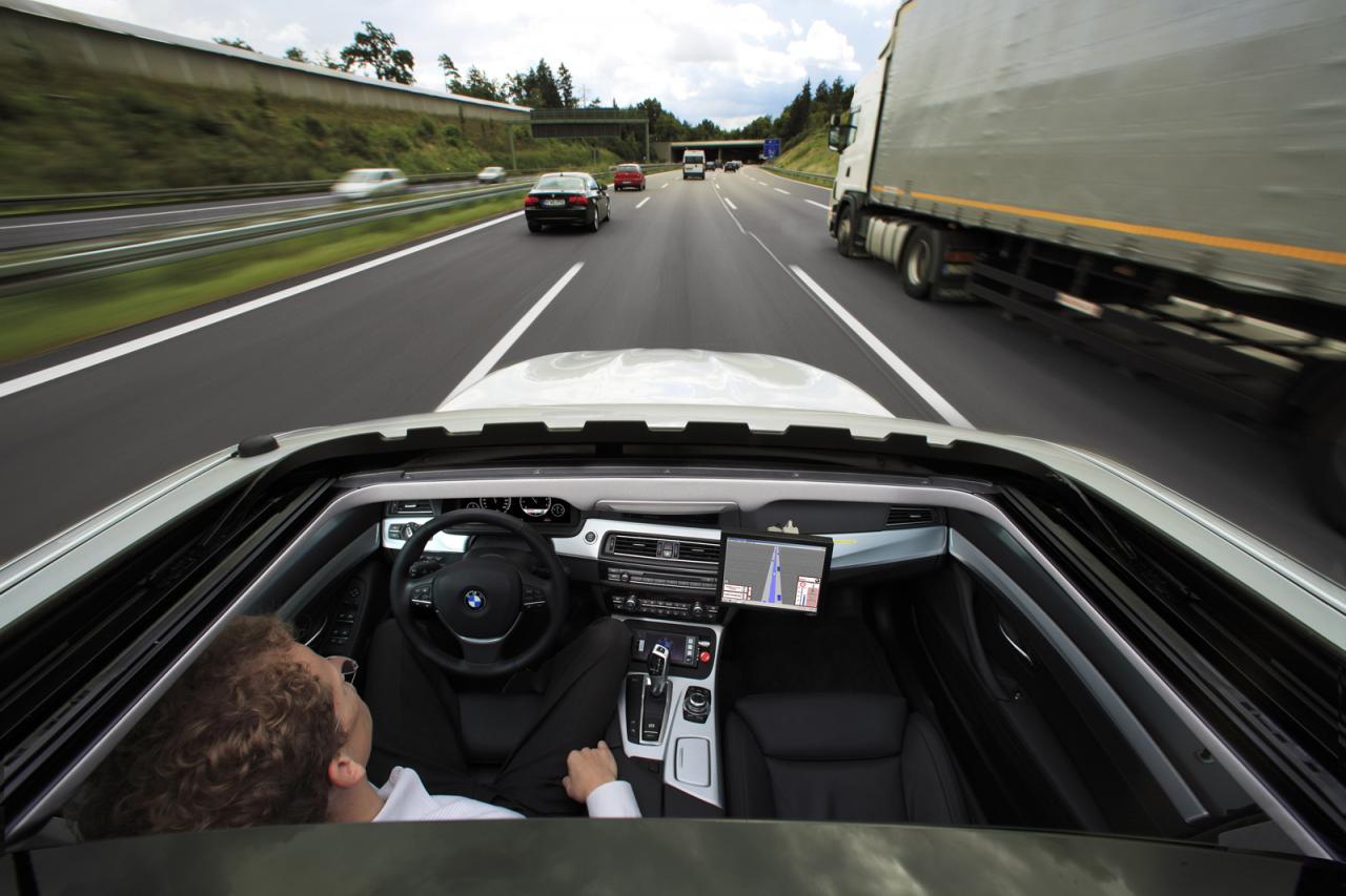Bmw Working On Autonomous Cars Connecteddrive Connect