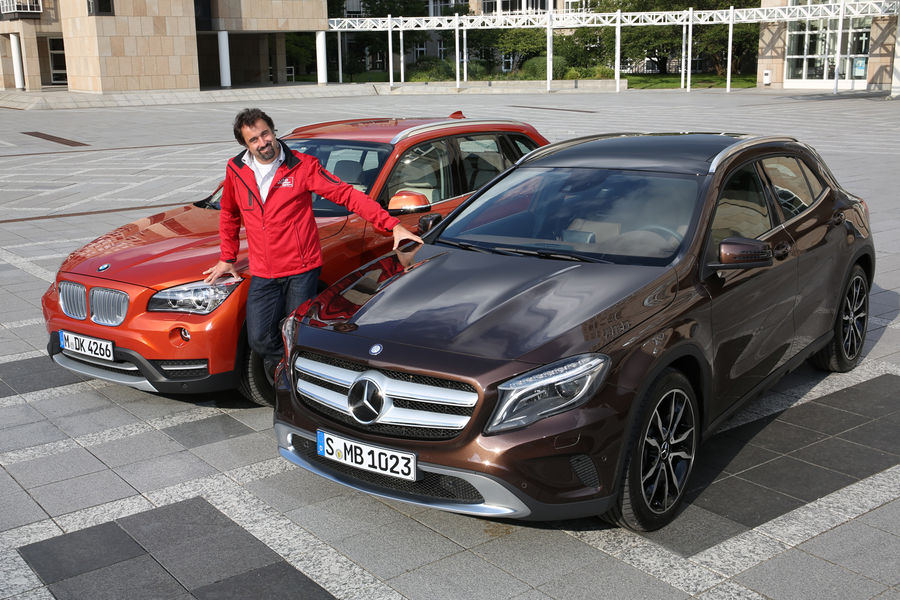 Bmw X1 Vs Mercedes Benz Gla Quick Comparison Autoevolution