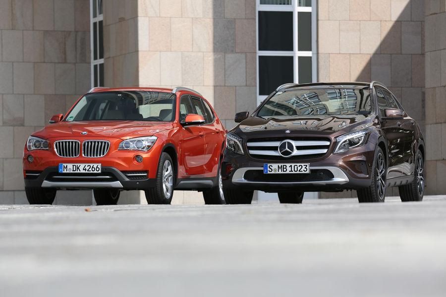 BMW X1 vs Mercedes-Benz GLA Quick Comparison - autoevolution