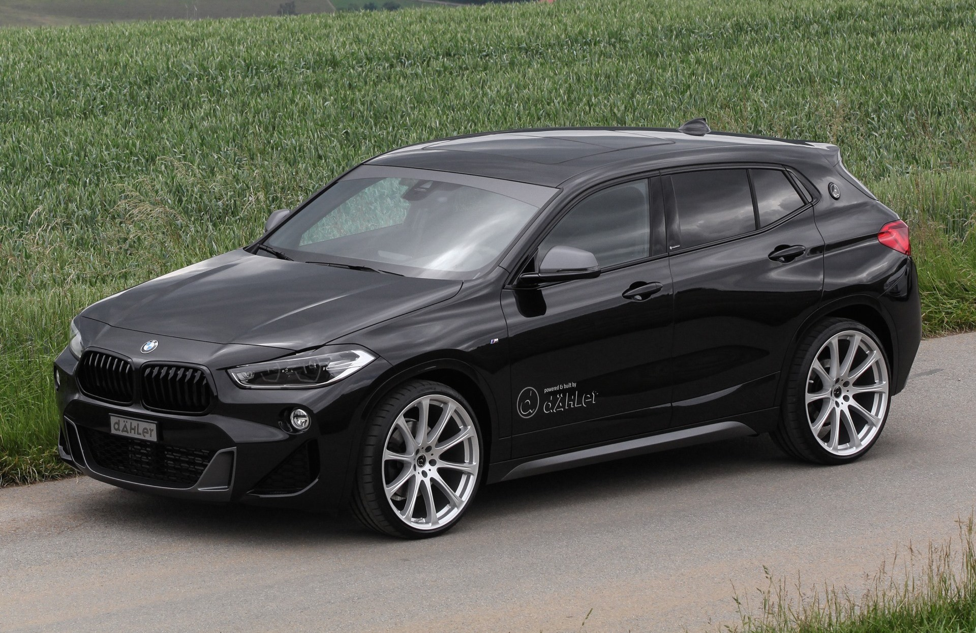 bmw x2 dahler competition line is tuning done right autoevolution. Black Bedroom Furniture Sets. Home Design Ideas