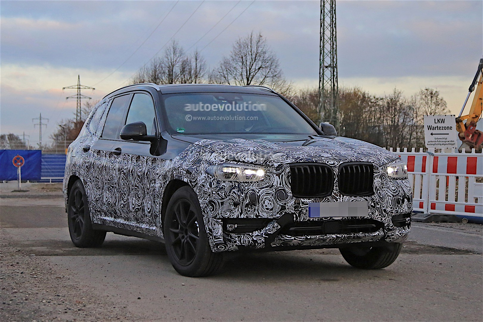 2017 bmw x3 g01 m40i prototype could this be it autoevolution. Black Bedroom Furniture Sets. Home Design Ideas