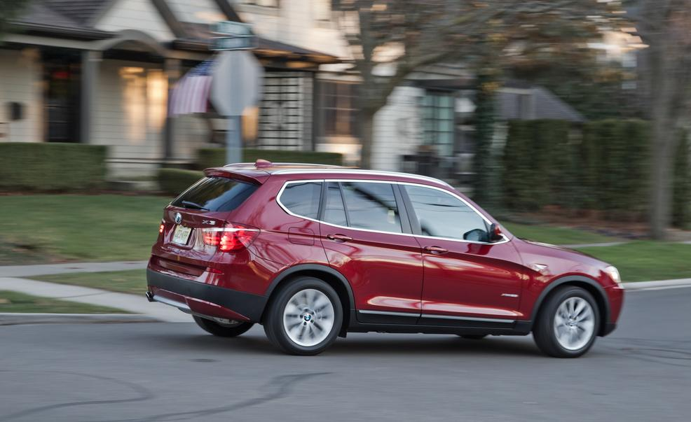 Bmw X3 Tops Q5 And Evoque In Latest Car And Driver