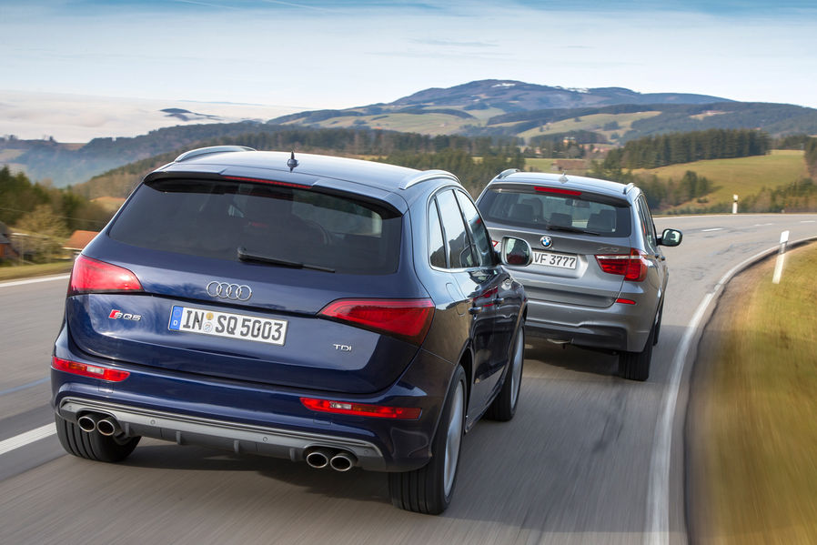 Bmw X3 Xdrive35d Vs Audi Sq5 Tdi By Automotorundsport