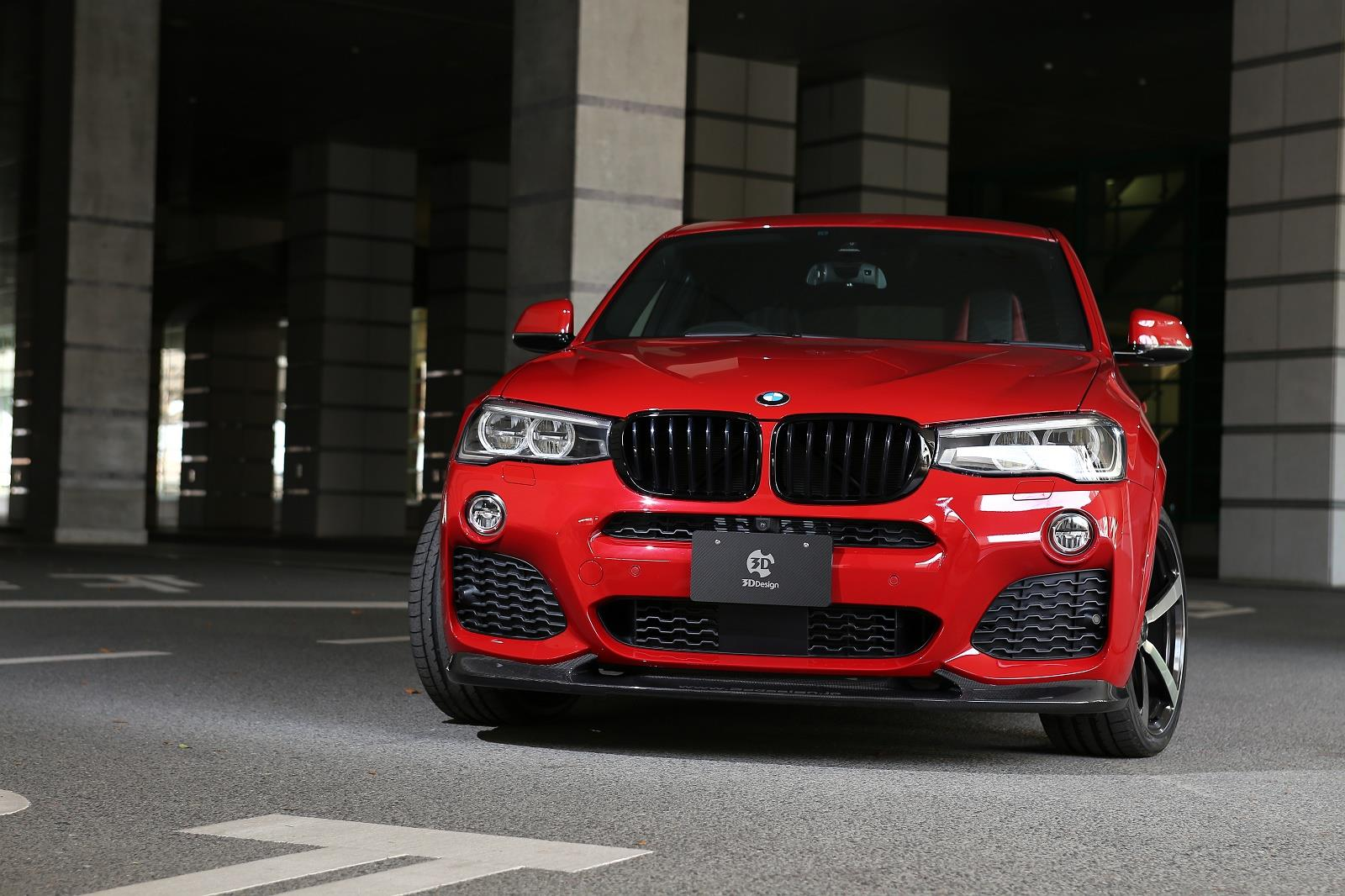 Bmw X4 Gets 3d Design Tuning Program Autoevolution