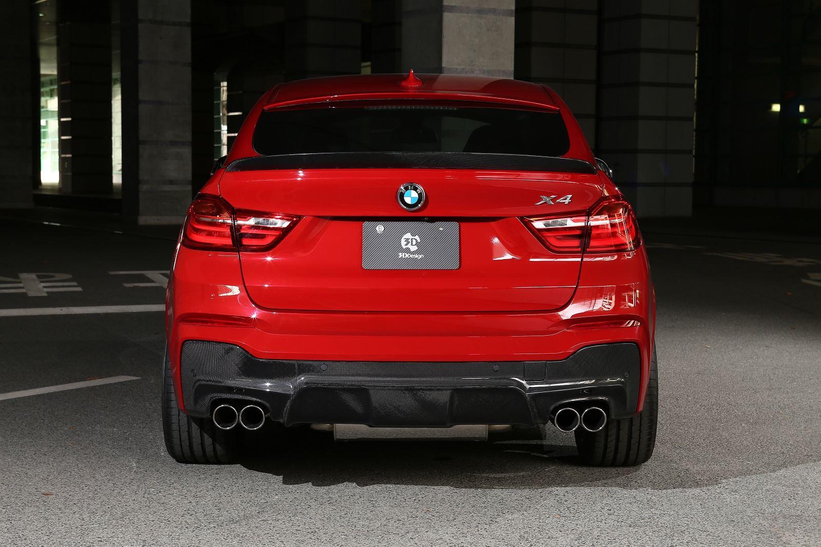 BMW X4 gets tuning program from 3D Design  BMW X4 Forum