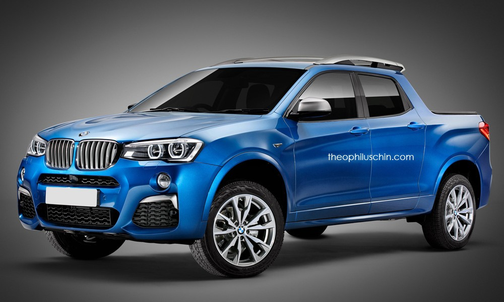 Bmw X4 Pickup Truck Is The M2 S Redneck Cousin Autoevolution