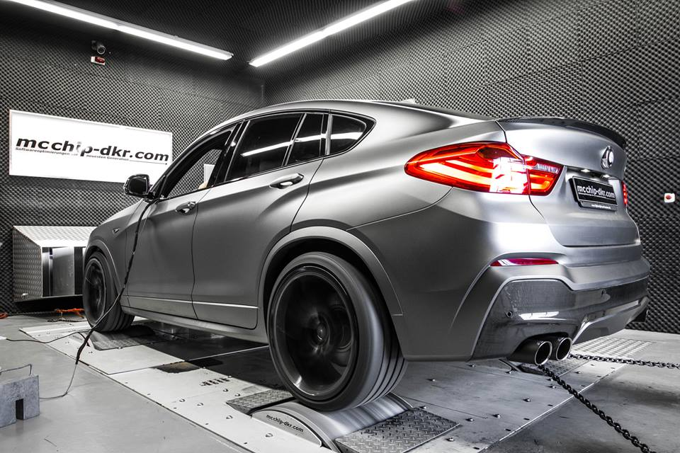 Bmw X4 Xdrive35d Taken Up To 370 Hp Is A Preview For The Upcoming X4 M40i Autoevolution
